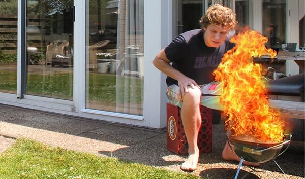 Meerdere brandwonden door aansteken barbecue | Veiligheid op